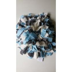 Snuffelmat Lichtblauw Wit Grijs